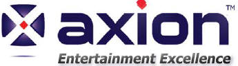 AXION Battery operated TV logo