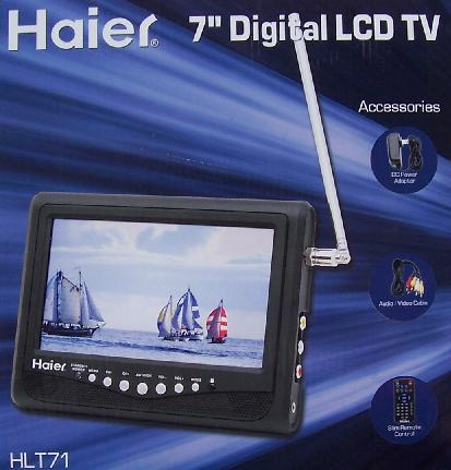 Haier Digital battery operated TV