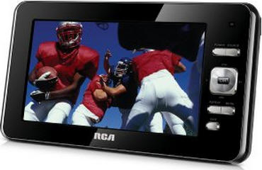 BATTERY TV - RCA - LED - 7 INCH - 60 HZ