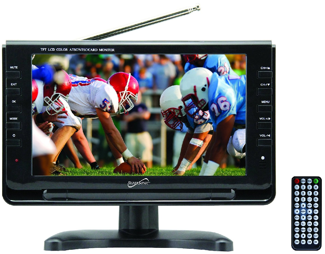 Battery Powered Tv Color Lcd 7 Inch