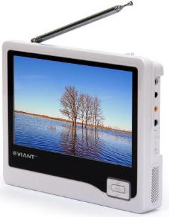 Eviant Battery Powered TV