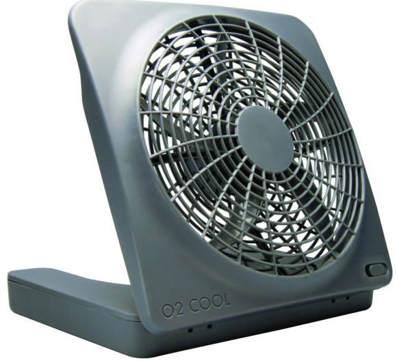 O2cool Battery Operated Fan With Ac Adapter For Hurricane