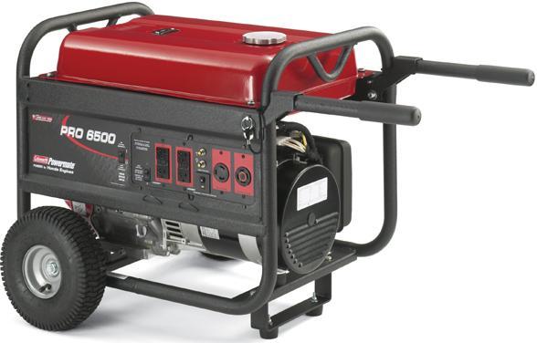 HONDA ENGINES. Coleman Powermate PRO 6500 Portable Generator