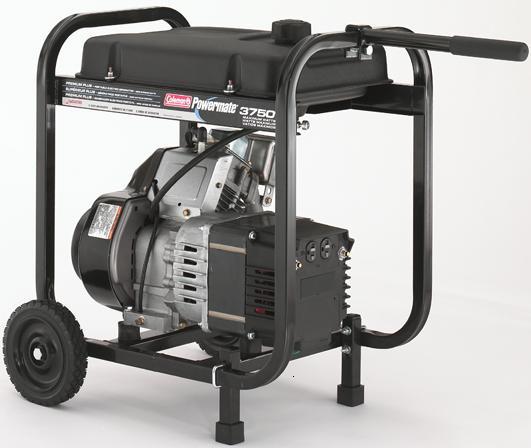 Coleman Powermate Premium Plus 3750 Watt Portable Generator