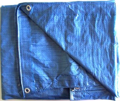 lightweight blue poly tarp
