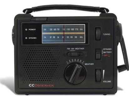 CC Observer Emergency Wind-up Radio